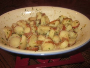Steamed New Potatoes